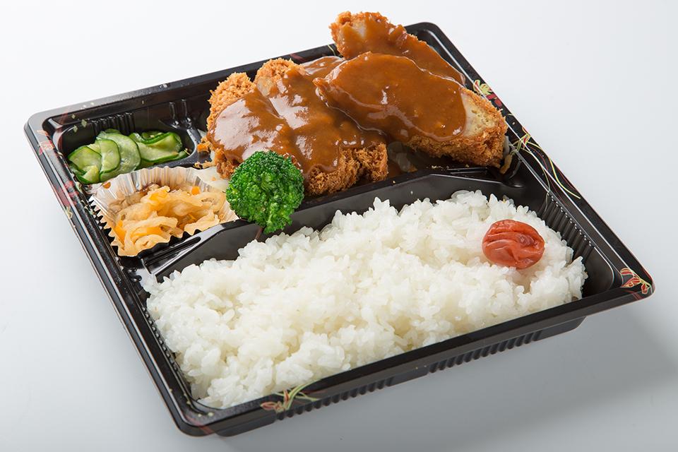 チキンカツ弁当(デミグラス)