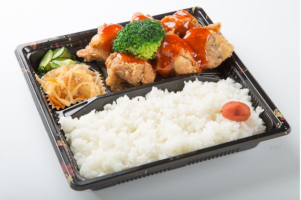 唐揚げ弁当(チリソース)