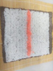 巻き寿司巻きまくりましたゆ、節分。