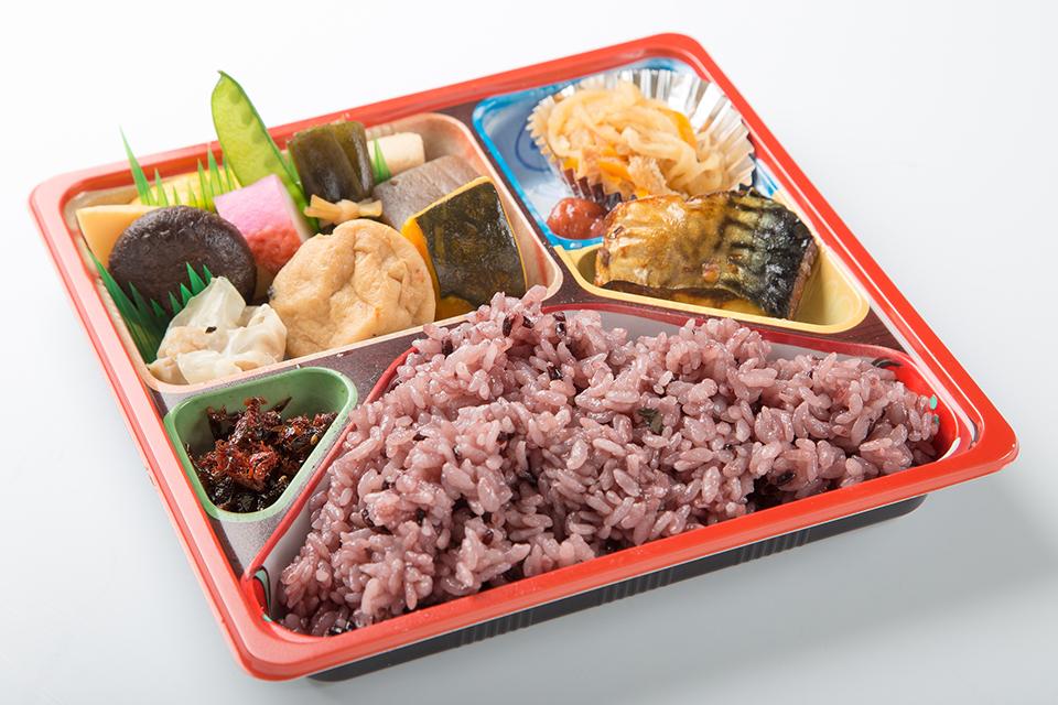 幕の内弁当(古代米)